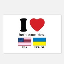 USA-UKRAINE Postcards (Package of 8)