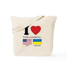 USA-UKRAINE Tote Bag