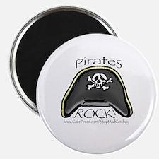 Pirates Rock Magnet