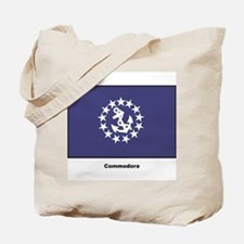 Commodore Flag Tote Bag