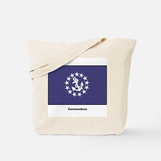 Commodore Flag Tote Bag