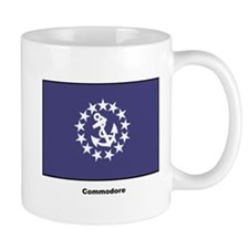 Commodore Flag Mug
