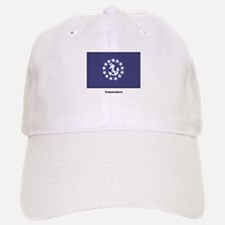 Commodore Flag Baseball Baseball Cap