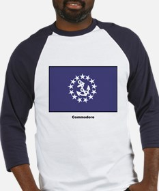 Commodore Flag (Front) Baseball Jersey