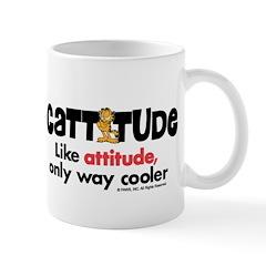Cattitude Attitude Small Mug
