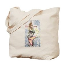 Star Mermaid Tote Bag