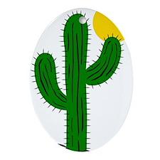 Cactus116 Oval Ornament
