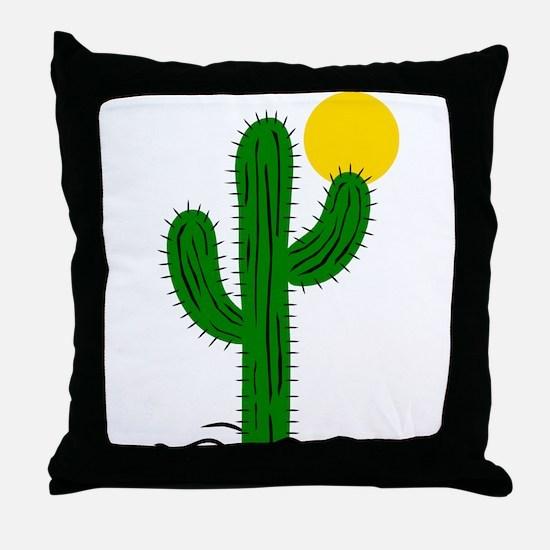Cactus116 Throw Pillow