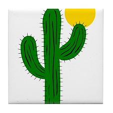 Cactus116 Tile Coaster