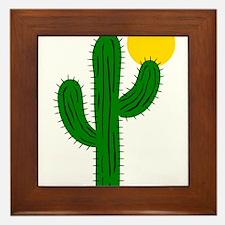 Cactus116 Framed Tile