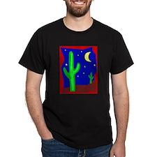 Cactus117 Black T-Shirt