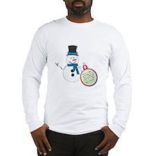 Snowman Poop Long Sleeve T-Shirt