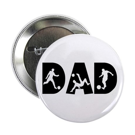 """Soccer DAD 2.25"""" Button (100 pack)"""