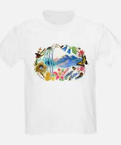 Nature Watercolor T-Shirt