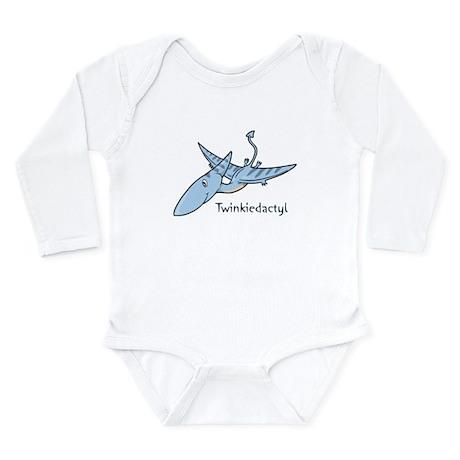 Twinkiedactyl Long Sleeve Infant Bodysuit