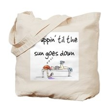 Scrappin' til the sun goes do Tote Bag