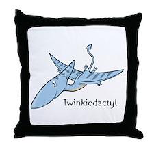 Twinkiedactyl Throw Pillow