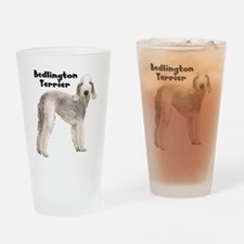 Bedlington Terrier Drinking Glass