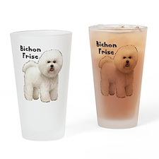 Bichon Frise Drinking Glass