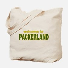 Welcome to Packerland Tote Bag