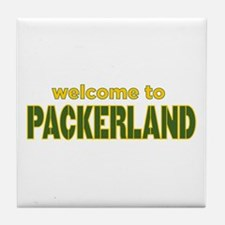 Welcome to Packerland Tile Coaster