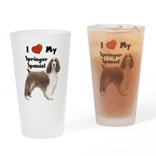 Unique English springer spaniel Drinking Glass