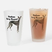Italian Greyhound Drinking Glass