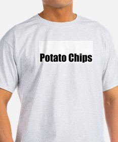Potato Chip Ash Grey T-Shirt
