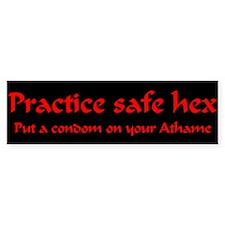 Safe hex Bumper stickers Bumper Bumper Sticker