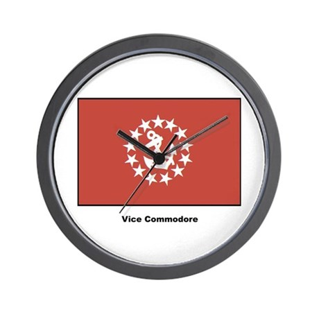 Vice Commodore Flag Wall Clock