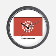 Vice Commodore Flag Wall Clock