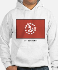 Vice Commodore Flag (Front) Hoodie