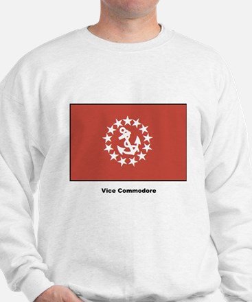 Vice Commodore Flag (Front) Sweatshirt