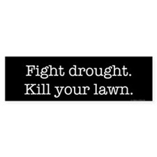 Fight Drought (bumper) Bumper Bumper Sticker