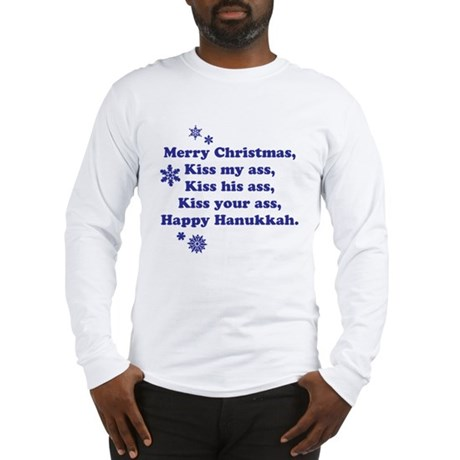 Merry Christmas -- Long Sleeve T-Shirt