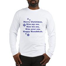 Merry Christmas -- Long Sleeve T-Shirt