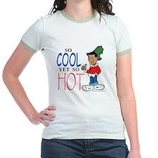 So Cool Yet So Hot Jr. Ringer T-Shirt