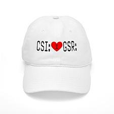 I LOVE CSI & GSR Baseball Cap