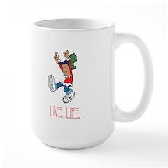 Live Life Large Mug