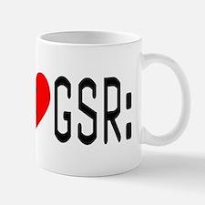 I LOVE CSI & GSR Mug