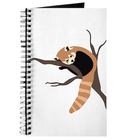 Sleepy Red Panda Journal