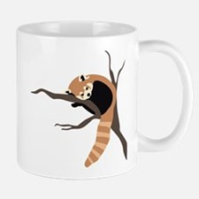 Sleepy Red Panda Mug