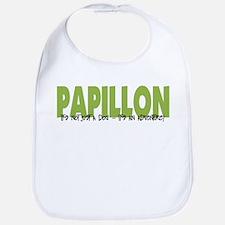 Papillon IT'S AN ADVENTURE Bib
