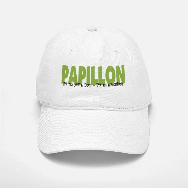 Papillon IT'S AN ADVENTURE Baseball Baseball Cap