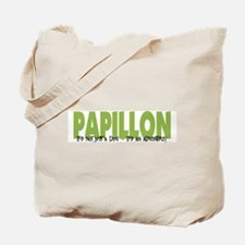 Papillon IT'S AN ADVENTURE Tote Bag
