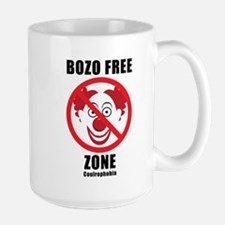 No Bozozzz Large Mug