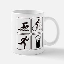 Swim Bike Run Drink Mug