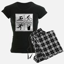 Swim Bike Run Drink Pajamas
