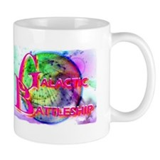 galactic battleship Mug