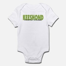 Keeshond IT'S AN ADVENTURE Infant Bodysuit